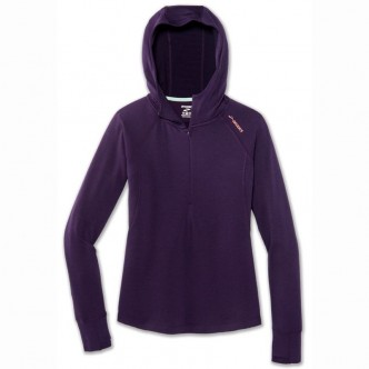 BROOKS Notch Thermal Hoodie W