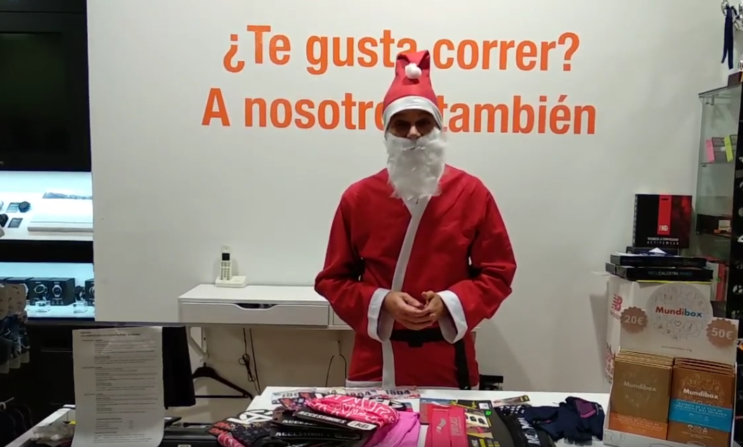 ¡Ya está aquí vuestro Papá Noel runner!