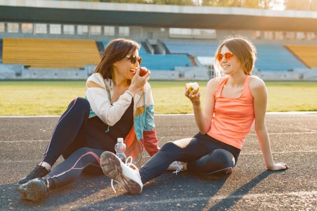 Comer o no comer antes de correr